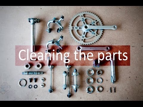 Bicycle Design Step 3: Cleaning the Parts