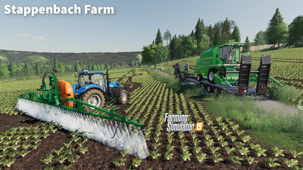 Spreading Fertilizer, Buying New Deutz Harvester & Subsoiling│Stappenbach│FS 19│Timelapse #02