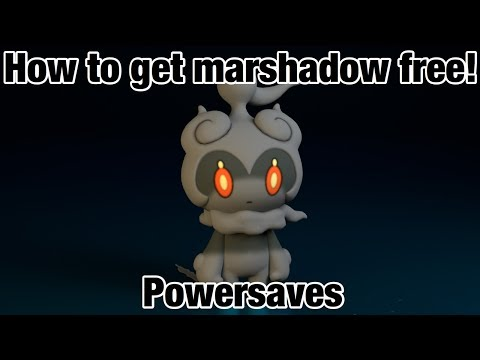 Pokémon sun and moon how to get Marshadow FREE! ( Powersaves ) Hatching an egg out a egg?