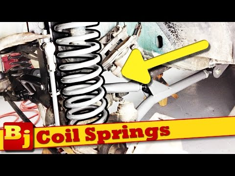 How-To install Coil Springs - Rough Country