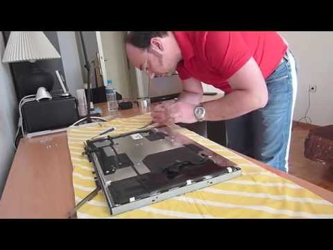  iMac LCD Panel Cleaning Shadows/dust 