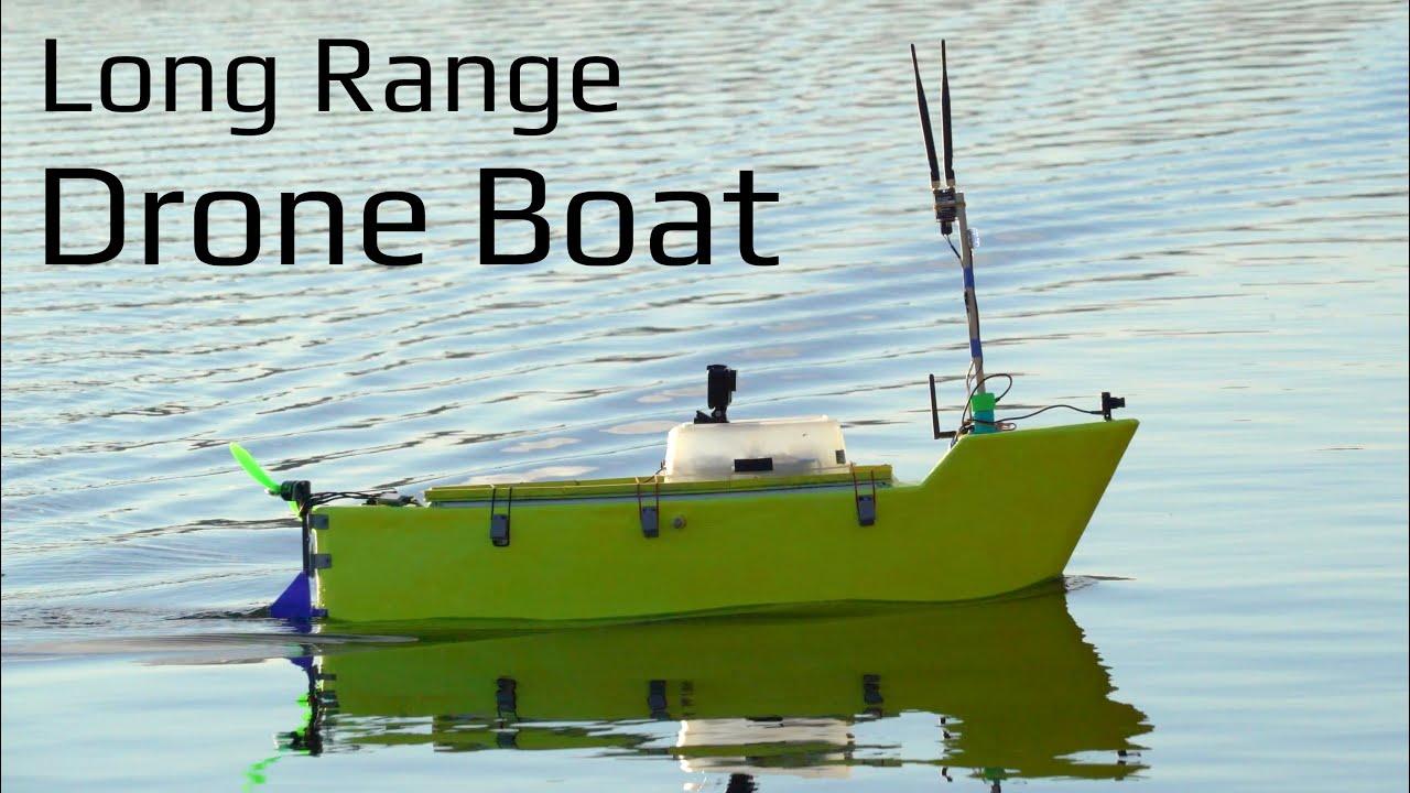 Long Range Autonomous Drone Boat - Build and Tuning
