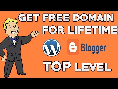 How to Get Free Domain For Website | Top level Domain for Life time in HINDI - 2017