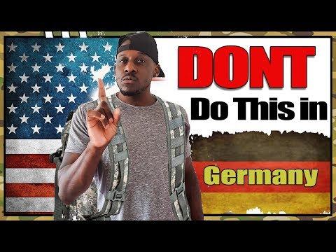 10 Dont Do's in Germany | Deutsche kultur