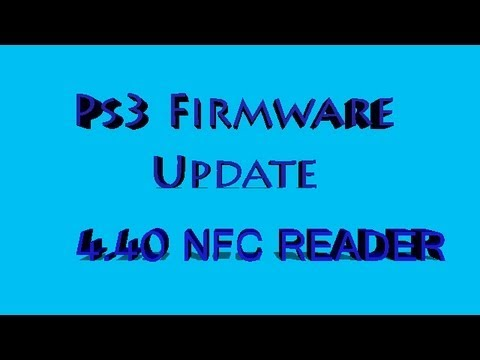 PS3 Firmware update 4.40 Nfc reader and second hand games Stability issues