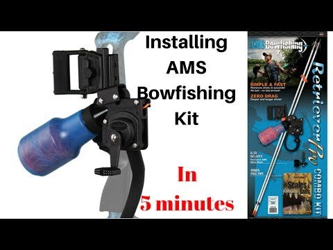 Installing AMS Bowfishing Kit in 5 minutes