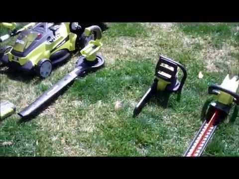 Quick Review of Ryobi's 40-Volt Lithium-ion Lawn Tools