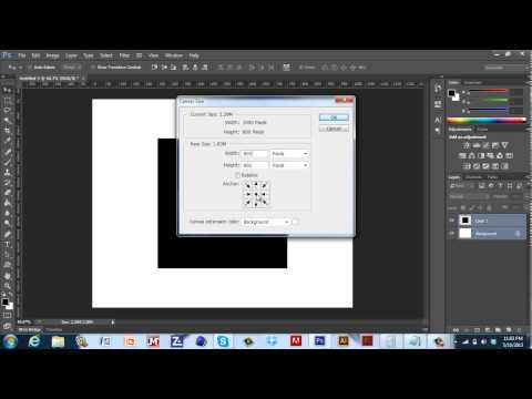 How to Change Photoshop Files/Canvas/Image Size - EnCue Tutorials