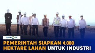 Pemerintah Siapkan 4 000 Hektare Lahan untuk Kawasan Industri Terpadu Batang