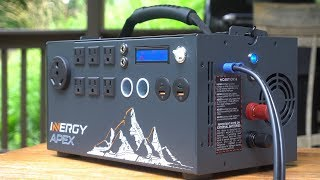 How I power my projects in remote locations - Inergy Apex Solar Generator