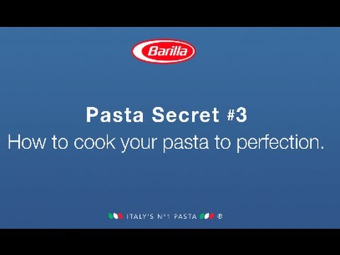 BARILLA SG - How to cook pasta to perfection