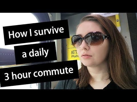 Tips on how to survive a long work commute
