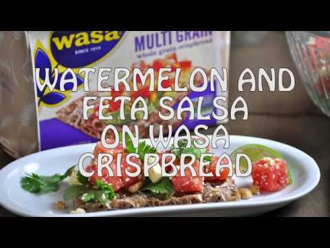 How to Make Watermelon and Feta Salsa, BLT on Crackers, and Avocado Spread
