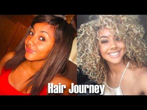 Hair Journey | Healthy, Curly, Blonde Hair