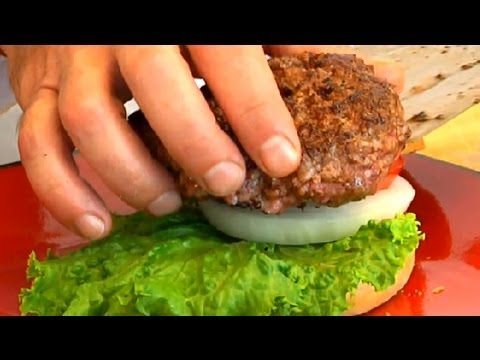 Quick Recipe for Ground Beef Hamburgers : Burgers With Flavor