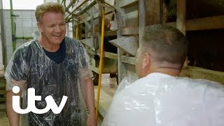 Gordon, Gino and Fred: Road Trip | Learning How to Make Buffalo Mozzarella Cheese | ITV