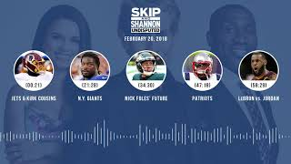 UNDISPUTED Audio Podcast (2.20.18) with Skip Bayless, Shannon Sharpe, Joy Taylor | UNDISPUTED