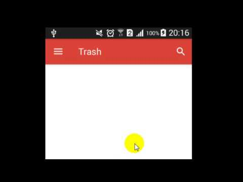 How to delete a mail permanently in Gmail Android App
