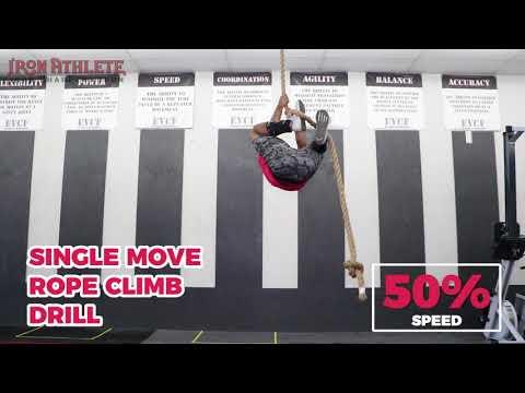 Single Move Rope Climb Drill