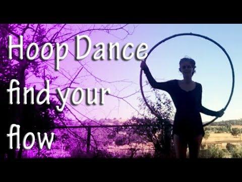 Hoop dance 💃🏼 find your flow 3 tips