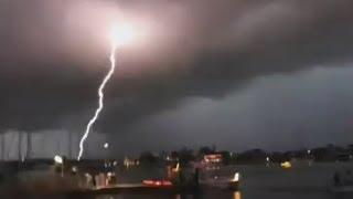 Best Lightning Strike Compilation #6 (June 2012)