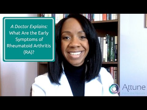 Rheumatoid Arthritis: What Are the Early Symptoms?