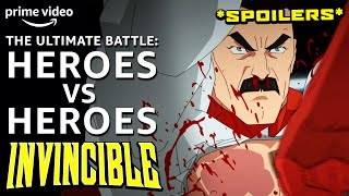 How Invincible Destroyed the Hero vs Hero Trope | Invincible | Prime Video Essay
