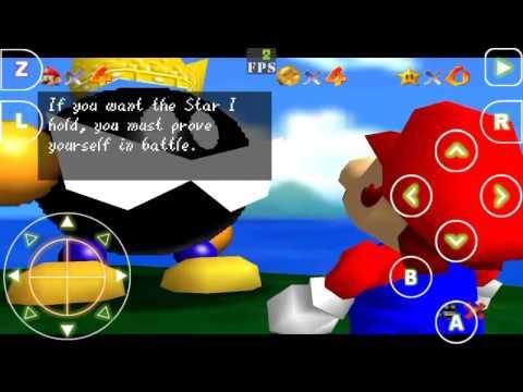 Iphone vs Android emulators Nintendo N64 Sega SNES MTR