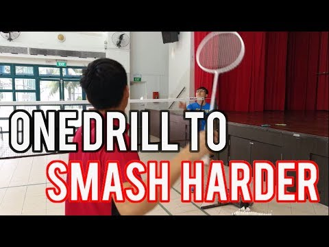 One Effective Smashing Drill for Beginners