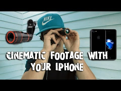 How to Get Cinematic Footage With the iPhone! (The Basics)