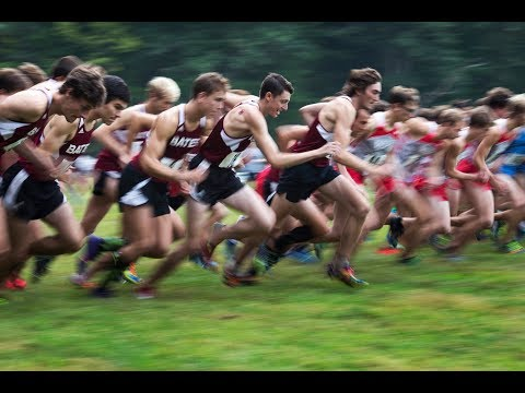 Bates College cross country hosts 2017 NESCAC Championships