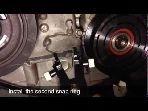 AC Compressor Clutch Repair / Replacement - Nissan Altima - DIY - Part 2