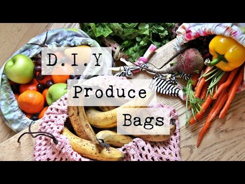 D.I.Y Produce Bags - Zero Waste Living