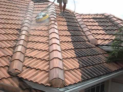 small barrel tile roof cleaning ryans pressure washing