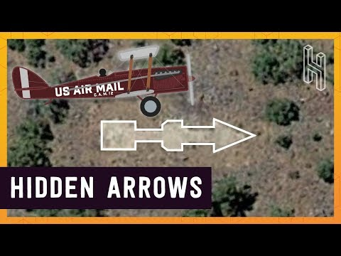 Why There Are Thousands of Giant Arrows Across the US