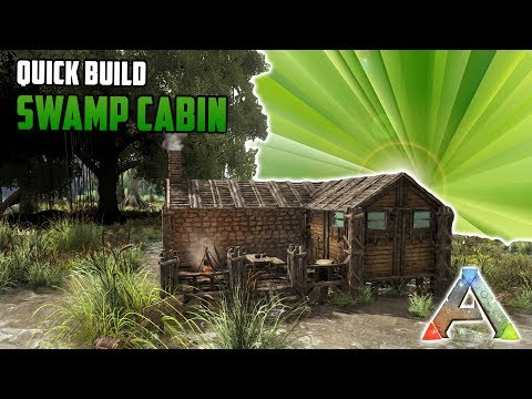 Swamp Cabin | Quick Build |  | Ark Survival