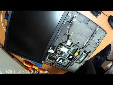 ThinkPad R61i - wymiana wiatraczka / fan replacement - assembly
