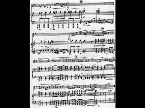 Malcolm Arnold, Sonatina for clarinet & piano