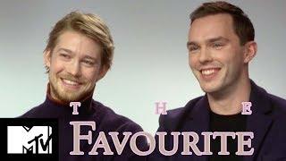 Joe Alwyn & Nicholas Hoult Go Speed Dating | The Favourite | MTV Movies