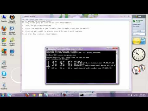 How to Crack A Server Proxy