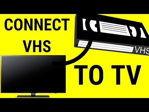 HOW TO CONNECT VHS TO SMART TV
