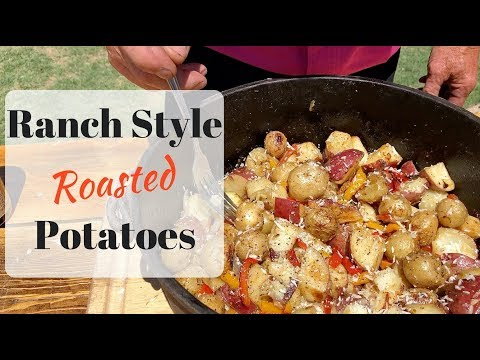 Oven Roasted Potatoes with Red Potatoes and Bell Peppers