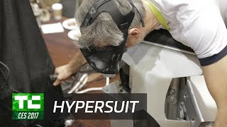 Fly in VR with Hypersuit | CES 2017