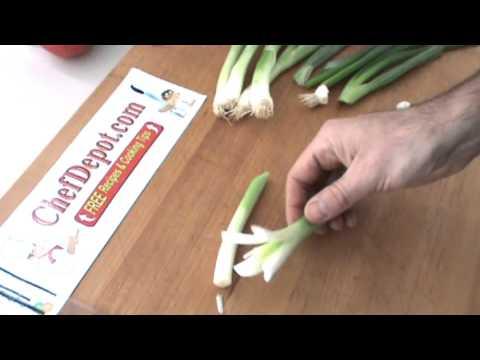 green onion flowers