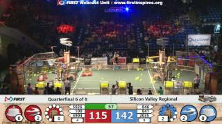 Quarterfinal 6 - 2017 Silicon Valley Regional