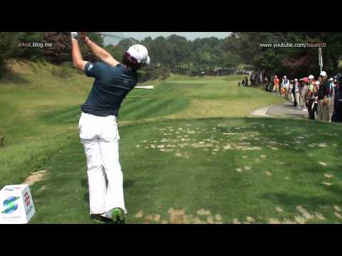 [HD SLOW] Rory McIlroy - 2011, Iron Golf Swing, tee shot(7)