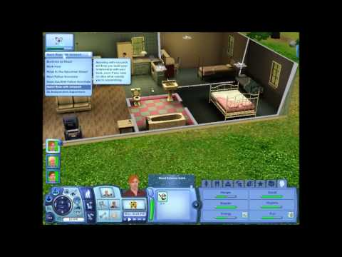 Tobias Plays .... The Sims 3 PC   Episode 3   Novel Writing And New Job