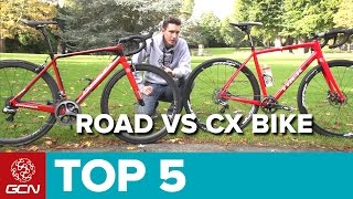 Road Bike Vs Cyclocross Bike - 5 Key Differences