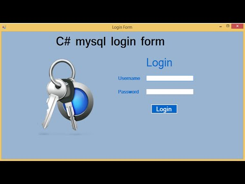 c# mysql login form