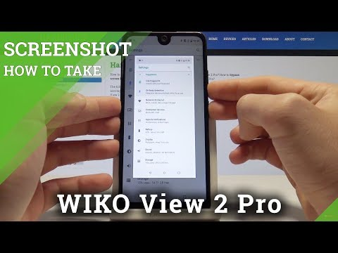How to Take Screenshot on WIKO View 2 Pro - Save Screen / Capture Screen Tutorial